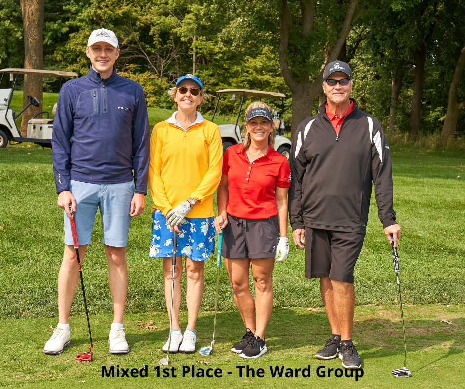 Photo of Golf Winners - The Ward Group