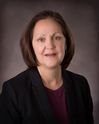 Portrait of Pam Williams, Regional Vice President, Ridgeview Le Sueur Medical Center and Ridgeview Sibley Medical Center