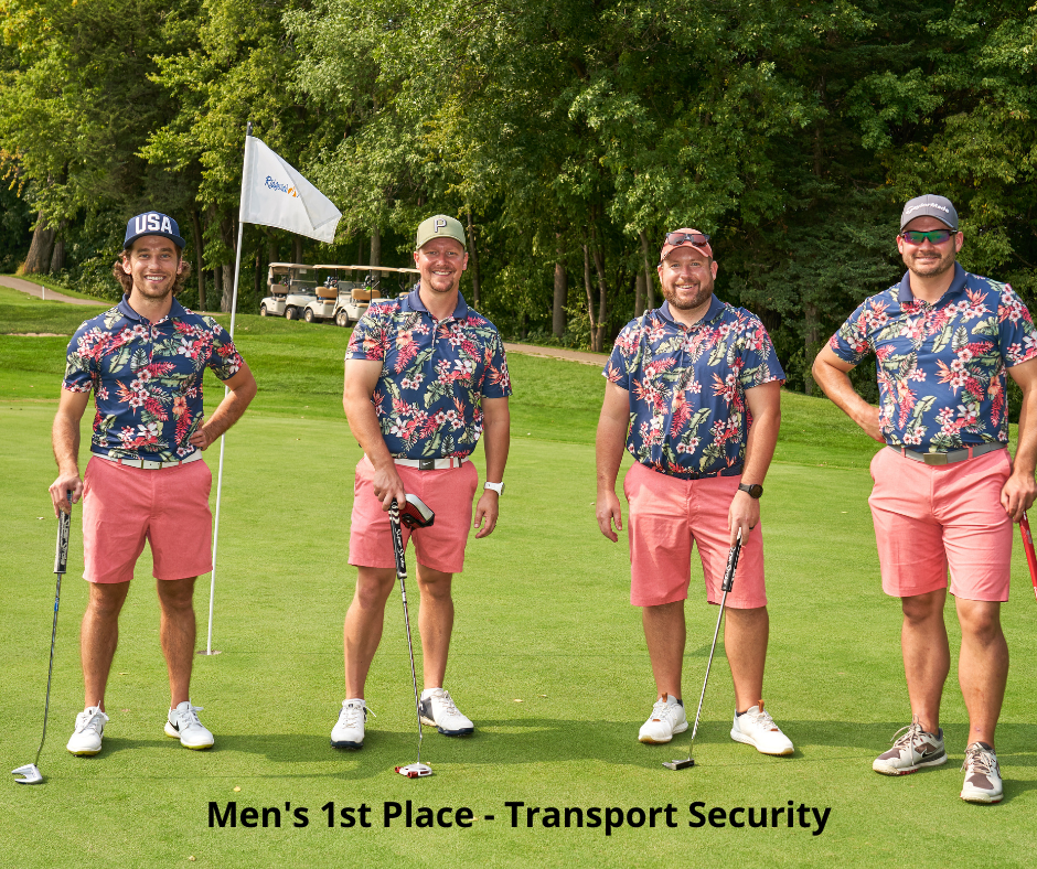 Photo of Golf Winners - Transport Security