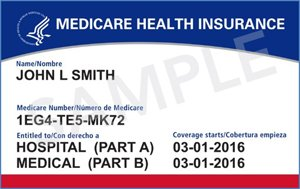 Picture of Medicare Card.