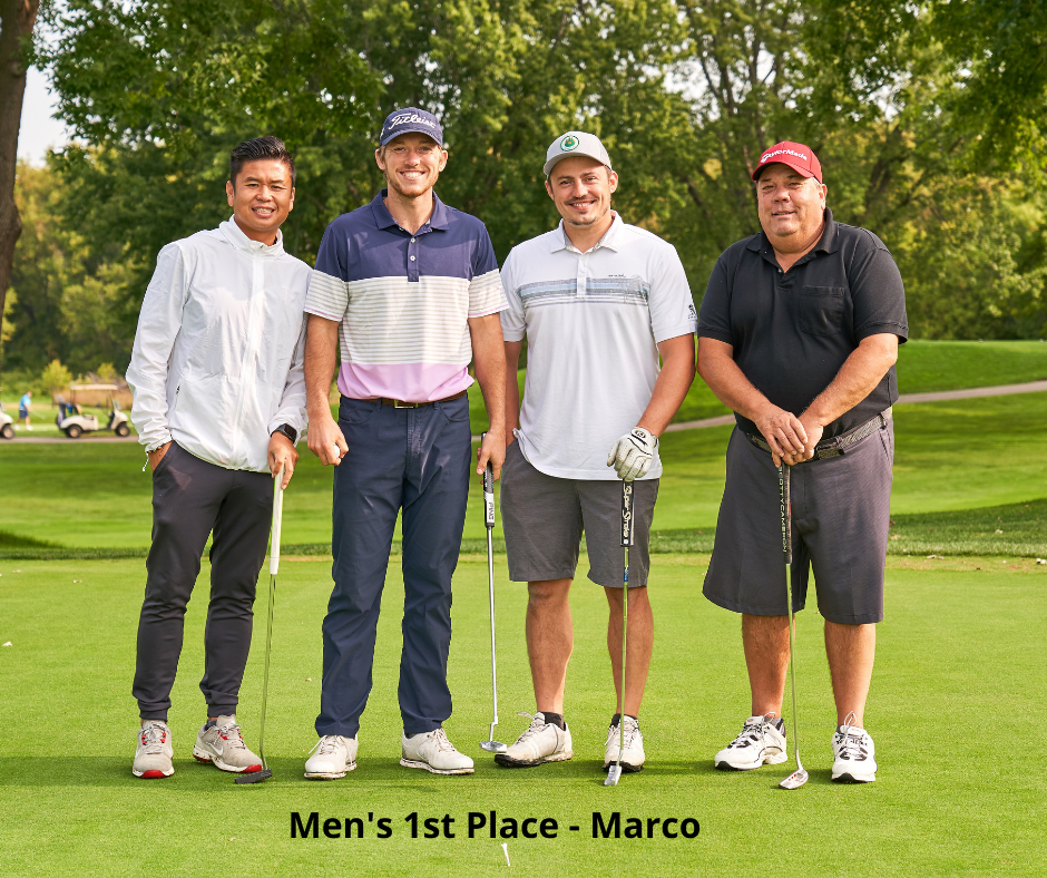 Photo of Golf Winners - Marco
