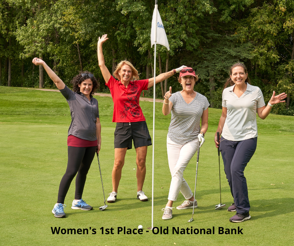 Photo of Golf Winners - Old National Bank