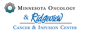 Ridgeview Medical Center and Minnesota Oncology Partnership Logo
