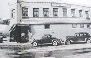 Photo of the original Nagel Hospital in Waconia